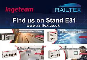 Ingeteam is to participate at RAILTEX 2019