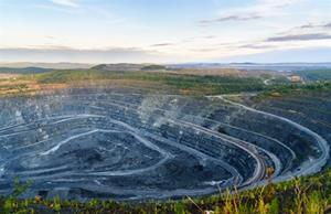 The commissioning of a mining plant has been completed
