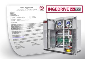 Ingeteam obtains UL and cUL certification for its INGEDRIVE™ MV300 range