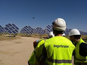 Ingeteam uses drones for enhanced PV plant performance