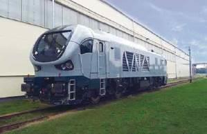 Successful completion of the commissioning of a new locomotive