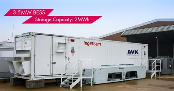 Ingeteam commissions a battery energy storage system for a plant in the United Kingdom