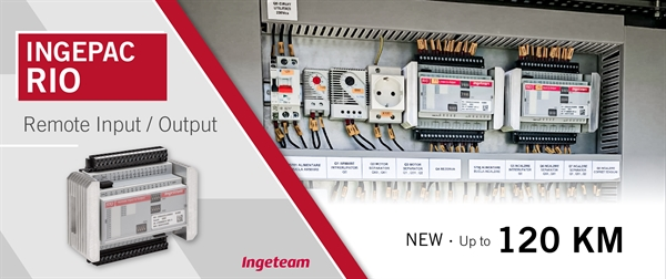 Ingeteam updates its INGEPAC™ RIO with new functions