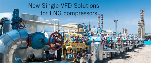 Ingeteam offers new Single-VFD Solutions for soft-starting a series of LNG compressors