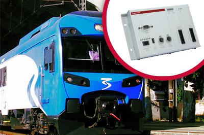 Solución INGESYS para módulos de baños de trenes
